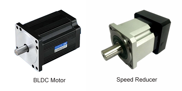 BLDC motor and speed reducer