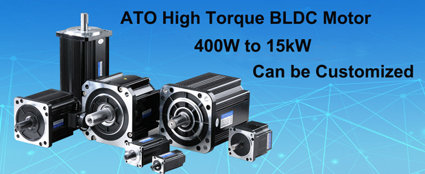 400W to 15kW high torque bldc motor